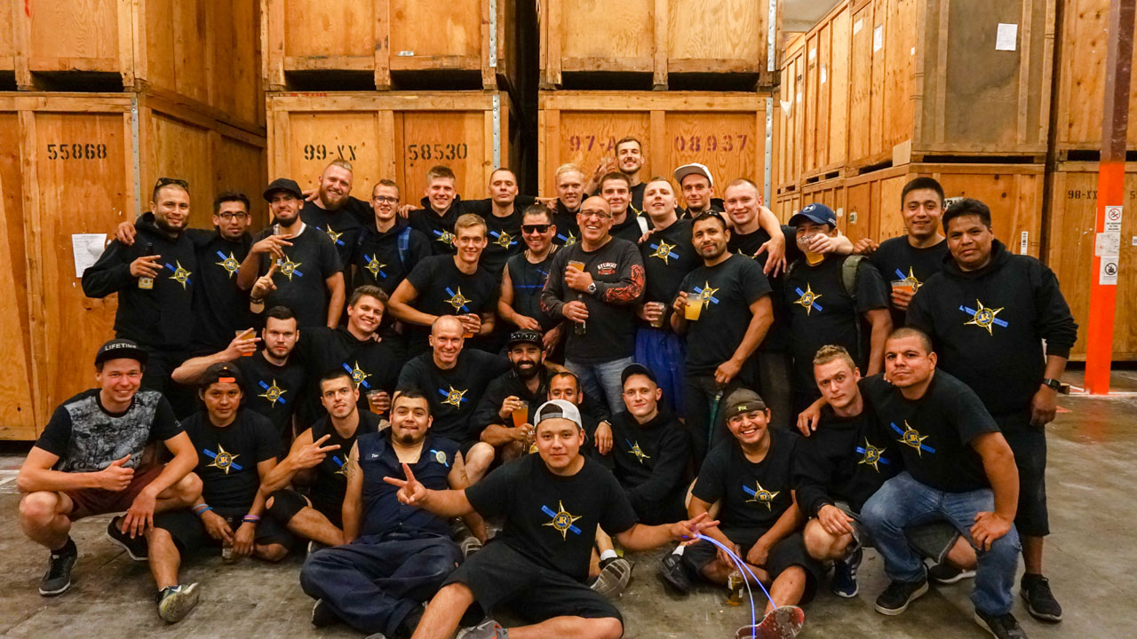 Jordan River Moving Crew Group Photo